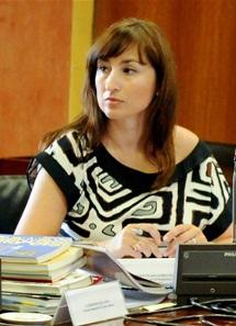 Inmaculada López. Directora Dpto. Turismo, RRHH, Financiero y Programas Europeos