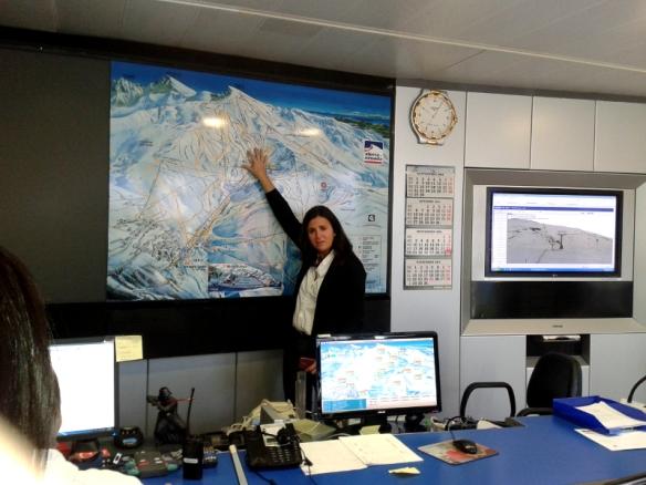 Centro mando Sierra Nevada Estación