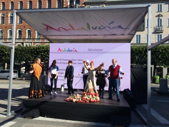 Flamenco en Estocolmo