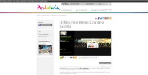 Unibike. Feria Internacional de la Bicicleta Web oficial de turismo de Andalucía