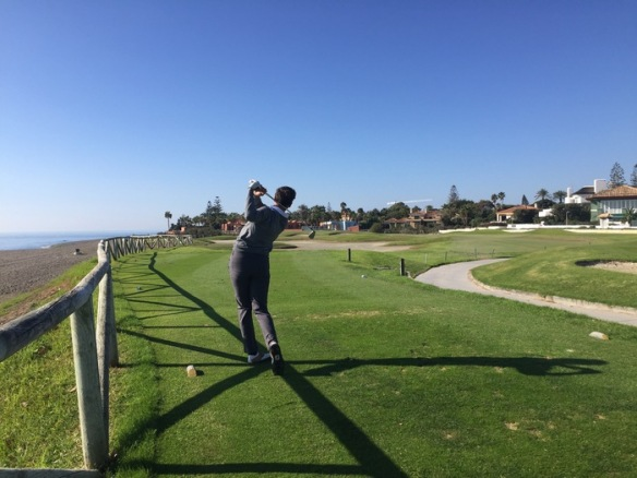 Guadalmina. Golf in Andalucía
